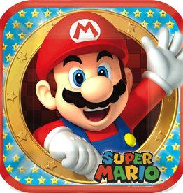 """Super Mario 9"""" Dinner Plates 8ct"""