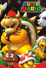 Super Mario Luncheon Napkins 16ct