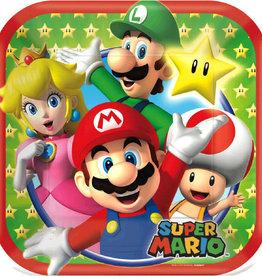 """Super Mario 7"""" Dessert Plates"""