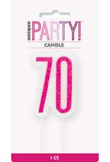Glitz Hot Pink 70 Wax Candle