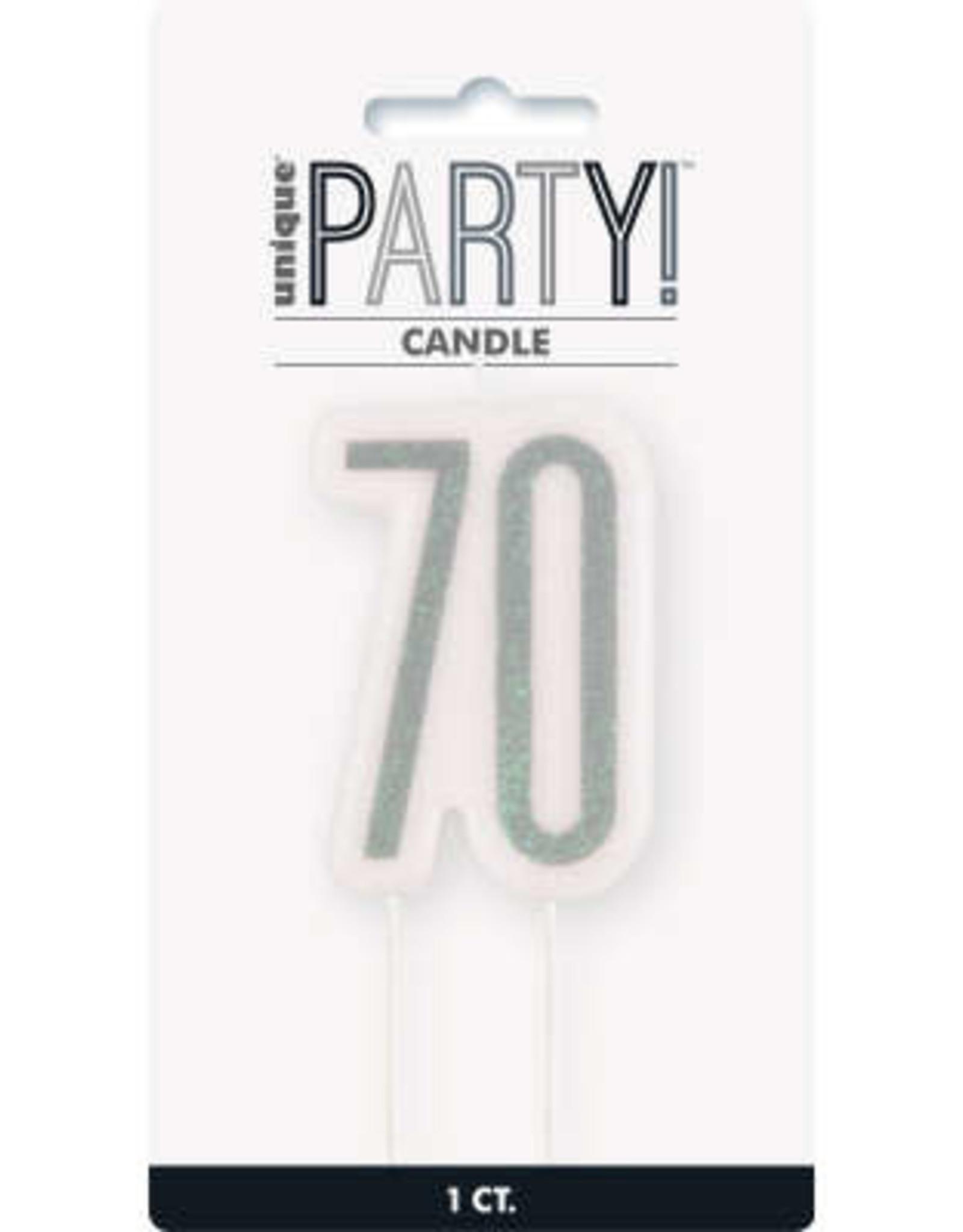 Glitz Black 70 Wax Candle