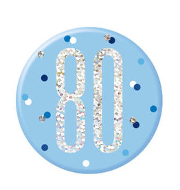 Glitz Blue 80 Pin