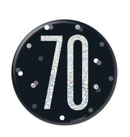 Glitz Black 70 Pin