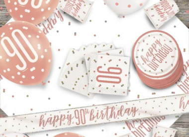 90th Birthday Party Supplies