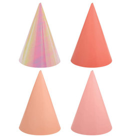Shades of Pink Party Hats 12ct