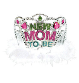 'New Mom To Be' Silver Tiara