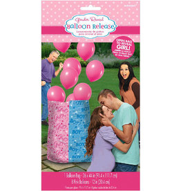 Girl Pink Gender Balloon Release  (Includes Helium)