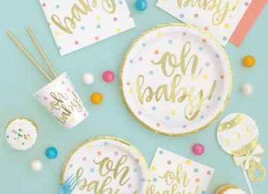 Gender Neutral Baby Shower Supplies