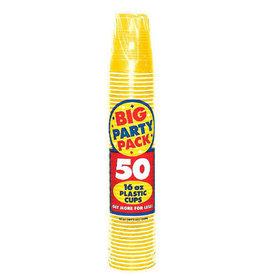 Yellow Solo Cups 50pk 16oz