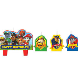 Paw Patrol Wax Candle Set 4ct (discontinued)