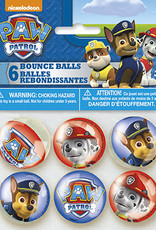 Paw Patrol Bouncy Balls 6ct