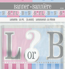 Gender Reveal Banner 12FT