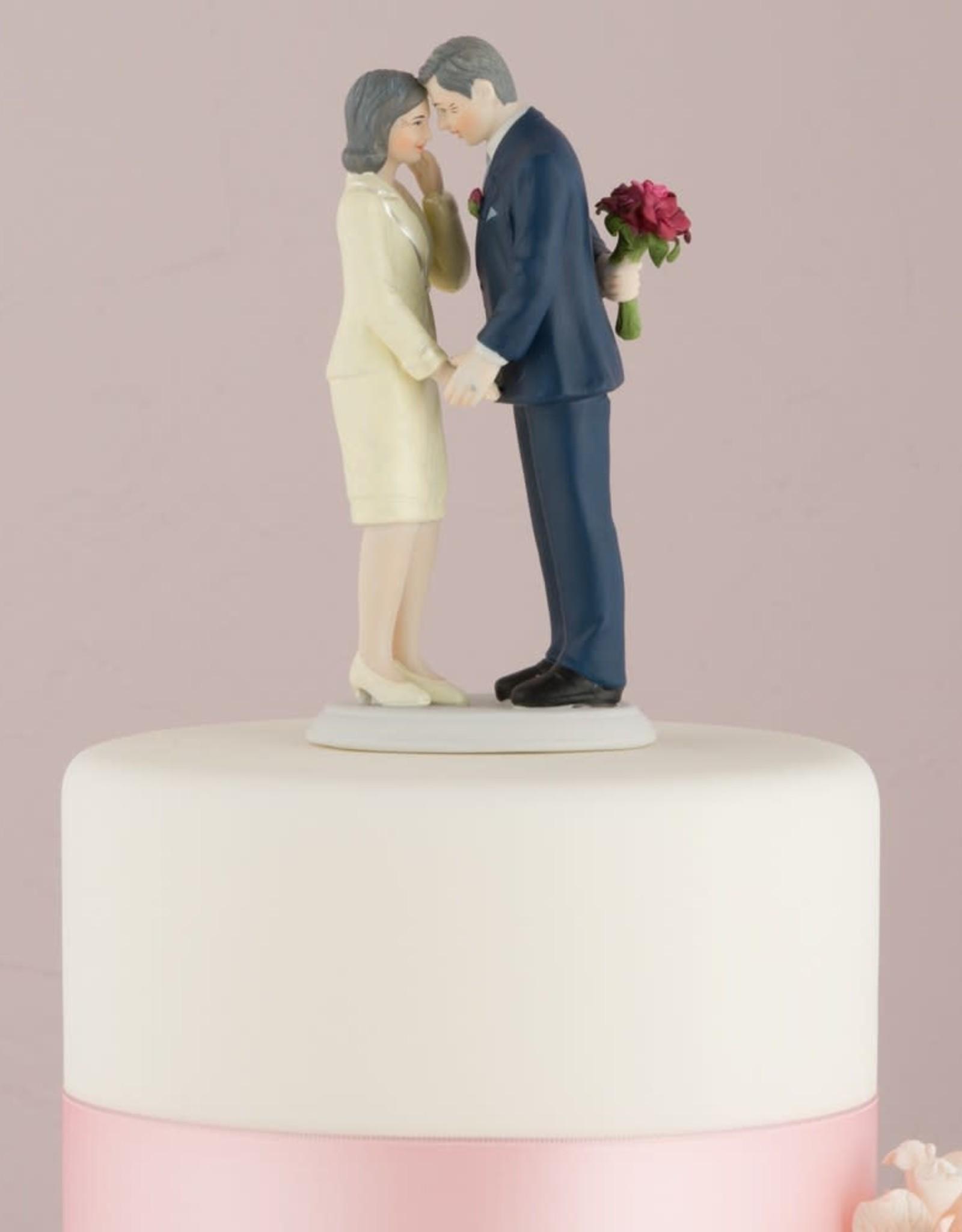 Mature Couple Cake Topper