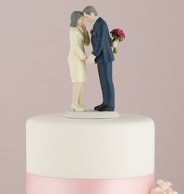 Mature Couple Cake Topper