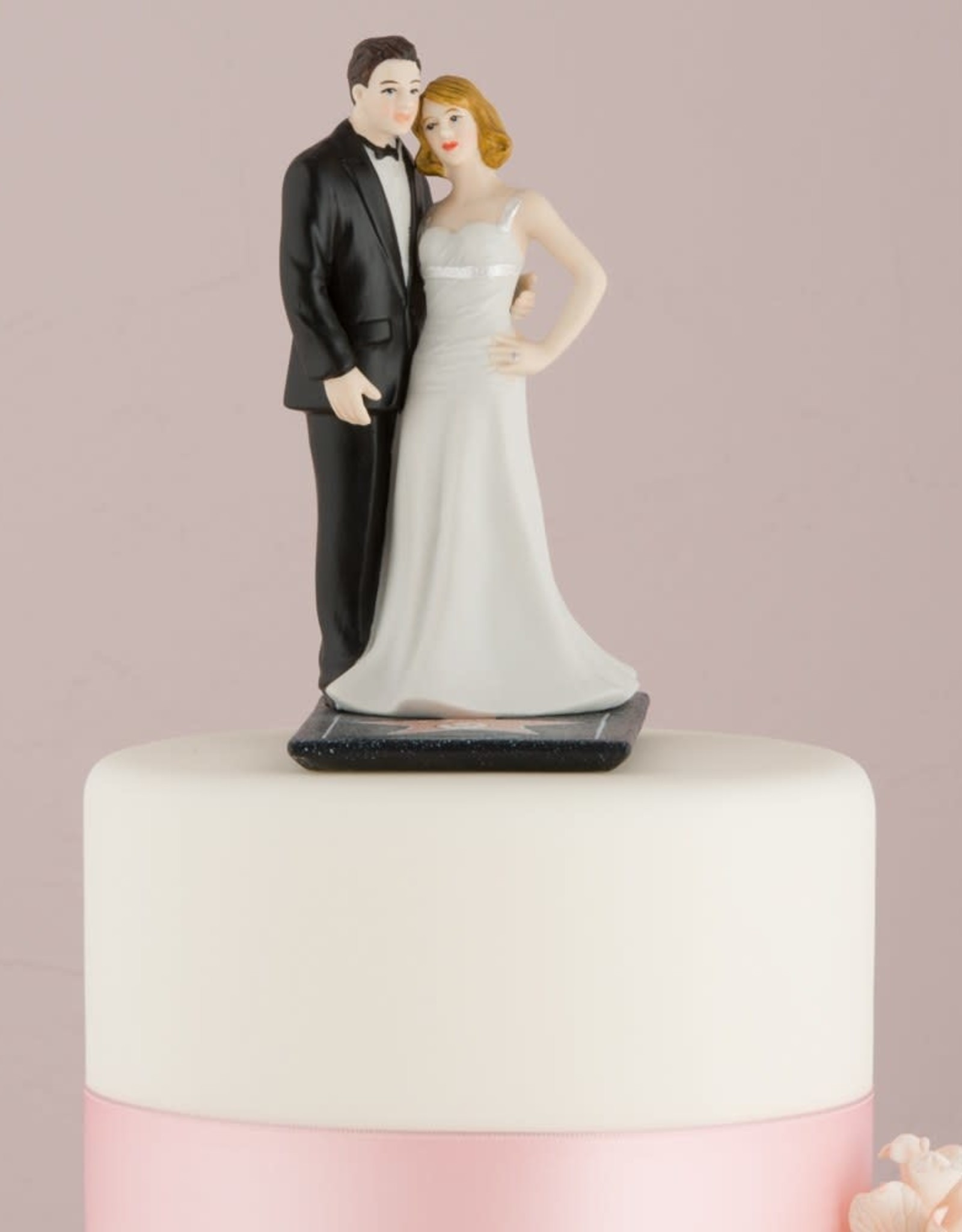 Hollywood Couple Cake Topper