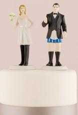 Pantsless Groom Cake Topper