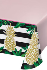 Pineapple Plastic Tablecloth 6FT