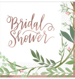 Bridal Shower Beverage Napkins 16CT