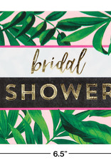 Bridal Shower Leaf Luncheon Napkins 16CT