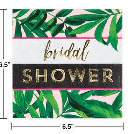 Bridal Shower Leaf Luncheon Napkins 16CT