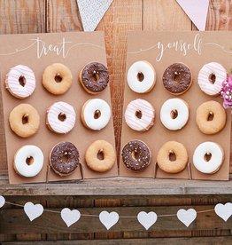 Donut Wall Display - Rustic 2CT