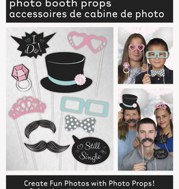Wedding Photo Booth Props 10ct