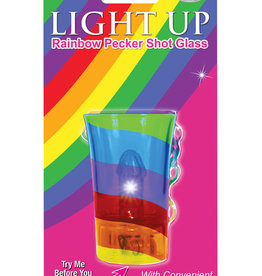 Light Up Pecker Shotglass