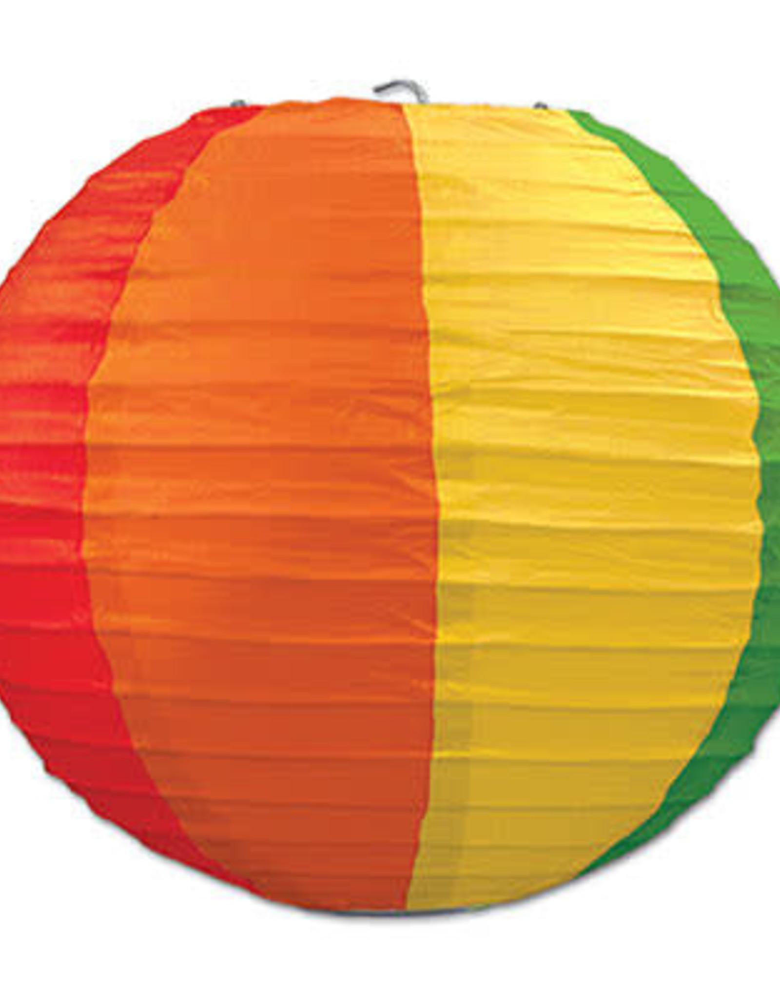 Rainbow Paper Lanterns 3CT