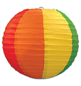 Rainbow Paper Lanterns 3CT