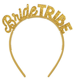 Bride Tribe Glitter Headbands 6CT