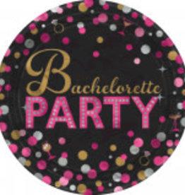 "Bachelorette 7"" Dessert Plates 8CT"