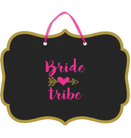 Bride Tribe Chalkboard Sign