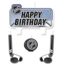 NHL Candles 4CT