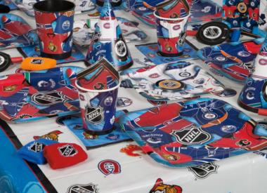 NHL Hockey Party Supplies