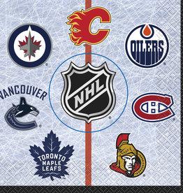 NHL Luncheon Napkins 16ct