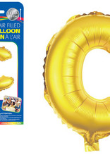"""let's Party Gold Letter C Balloon (14"""" Air Filled)"""