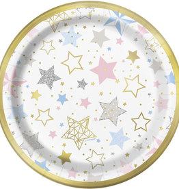 Twinkle Twinkle Stars Dessert Plates 8ct
