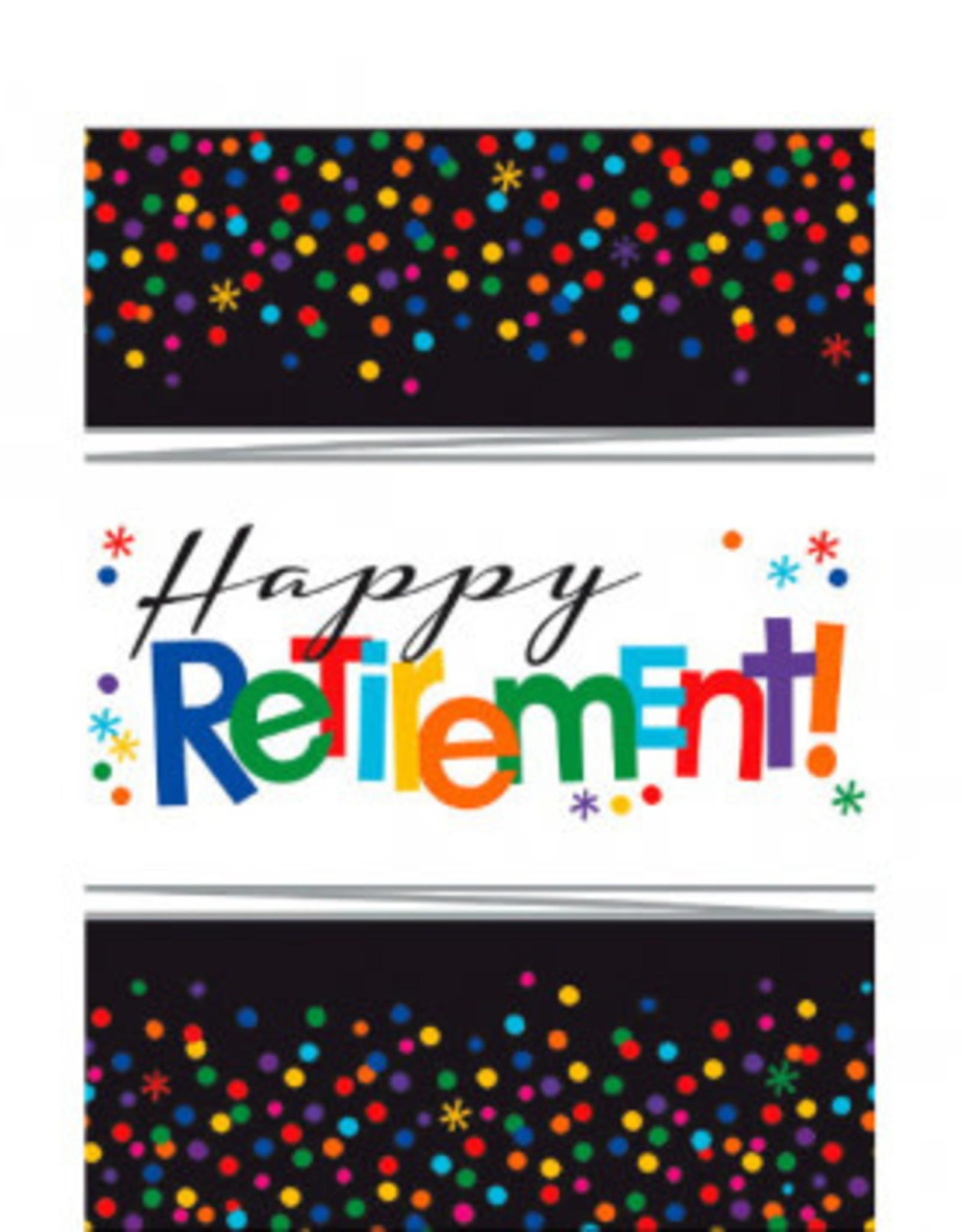 "Retirement Tablecloth 54"" x 102"""