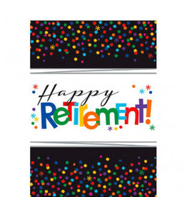 "Retirement Tablecloth 54"" x 102"""