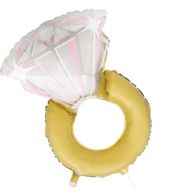 Diamond Ring Foil Balloon 32""