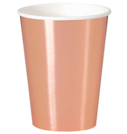 Rose Gold Cups 12oz 8ct