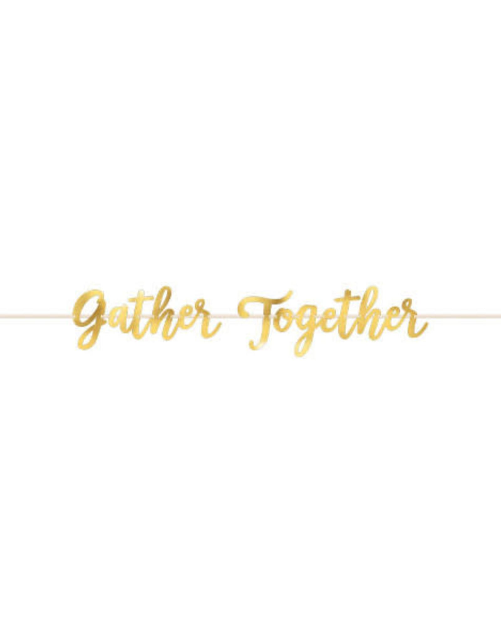 'Gather Together' 12FT Banner