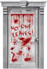Bloody Door Decoration