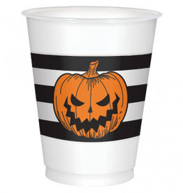 Halloween Pumpkin Solo Cups 25pk