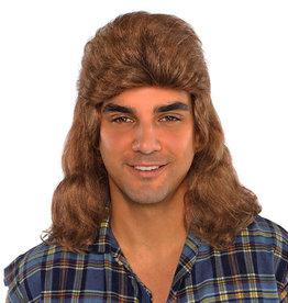 Mullett Wig Adult
