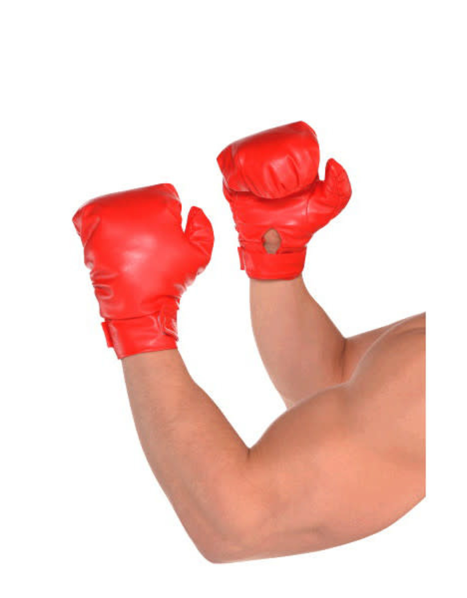 Red Boxing Gloves 2pk Adult