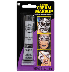 Silver Metallic Cream Makeup 0.7oz