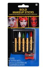 Bold Makeup Sticks 5ct