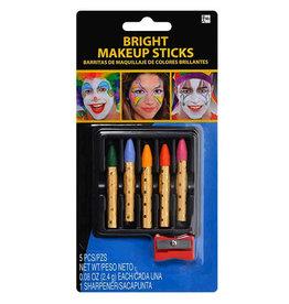 Makeup Sticks Bright Colours 5ct