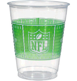 Football Cups 16oz 25pk
